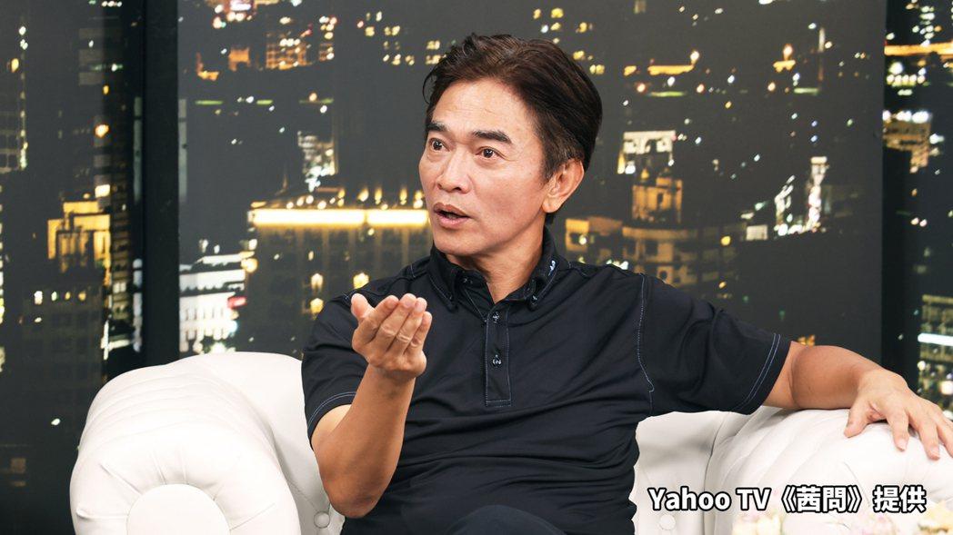吳宗憲說今年隨時都有可能離開演藝圈。圖/Yahoo TV提供