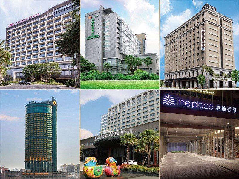 台南市6家星級飯店首次聯手推出限量星級美食外帶組合。圖/飯店提供