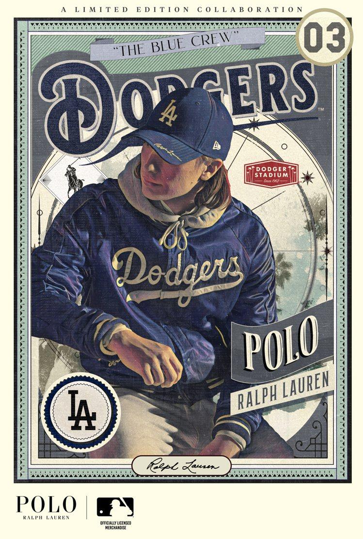 New Era、Polo Ralph Lauren和MLB聯名系列形象以骨董棒球...