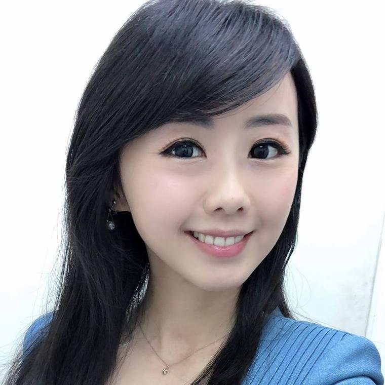 壹電視美女主播吳衣璇傳出快篩陽性。圖/摘自臉書