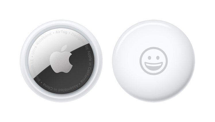 台灣大哥大6月中旬將開賣被譽為「防丟神器」的蘋果藍牙追蹤器AirTag。圖/台灣...