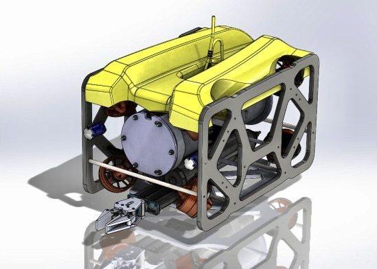 雷虎科技新一代中大型水下無人載具海龍一號 (Seadragon ONE)規劃設計...