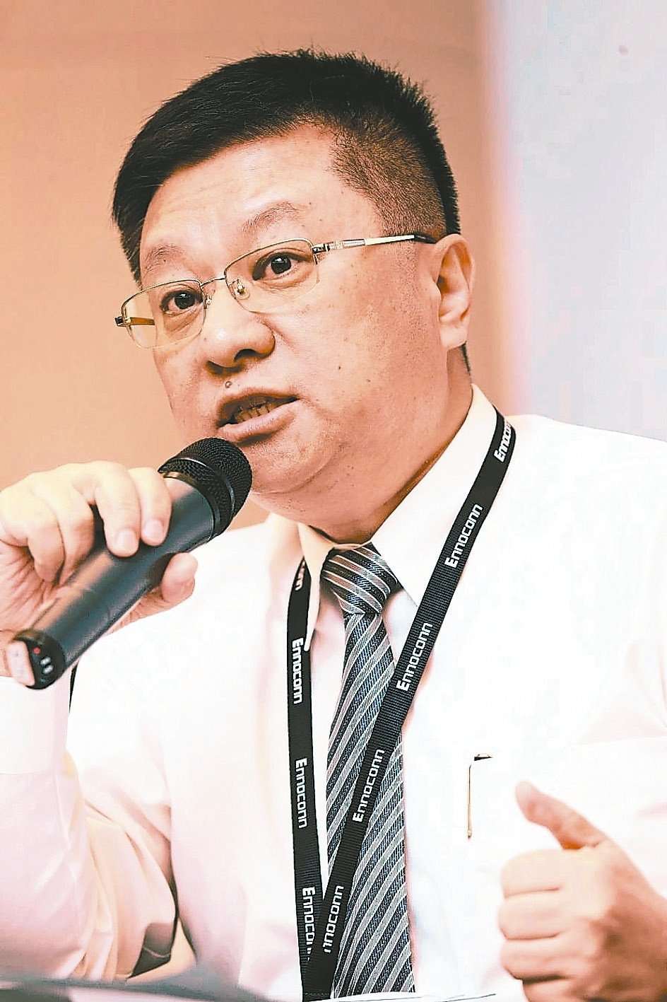 樺漢董事長朱復銓指出,今年在手訂單達950億元,樺漢長期目標是提升公司利潤率,並...
