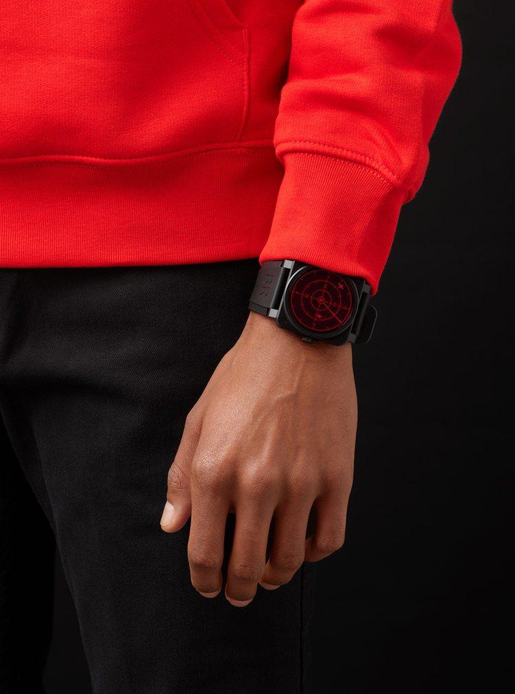 Bell & Ross相隔十年後,再度推出Red Radar腕表、並換上...