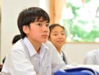 獨立思考、自動自發的能力,是未來領袖人物的重要特質。圖/取自千代田区立麹町中学校...