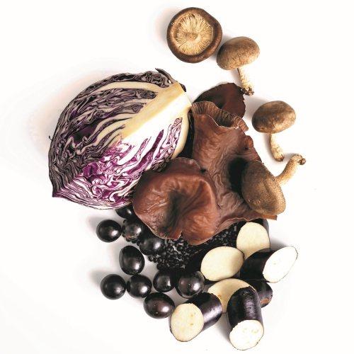 藍紫色蔬果(含黑色)富含花青素,花青素是類黃酮素家族的成員之一,被認為能有效去除...