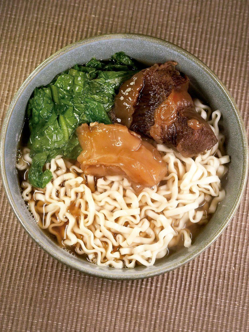 台北誠品行旅的和牛頰肉牛肉麵。圖/麥浩斯提供