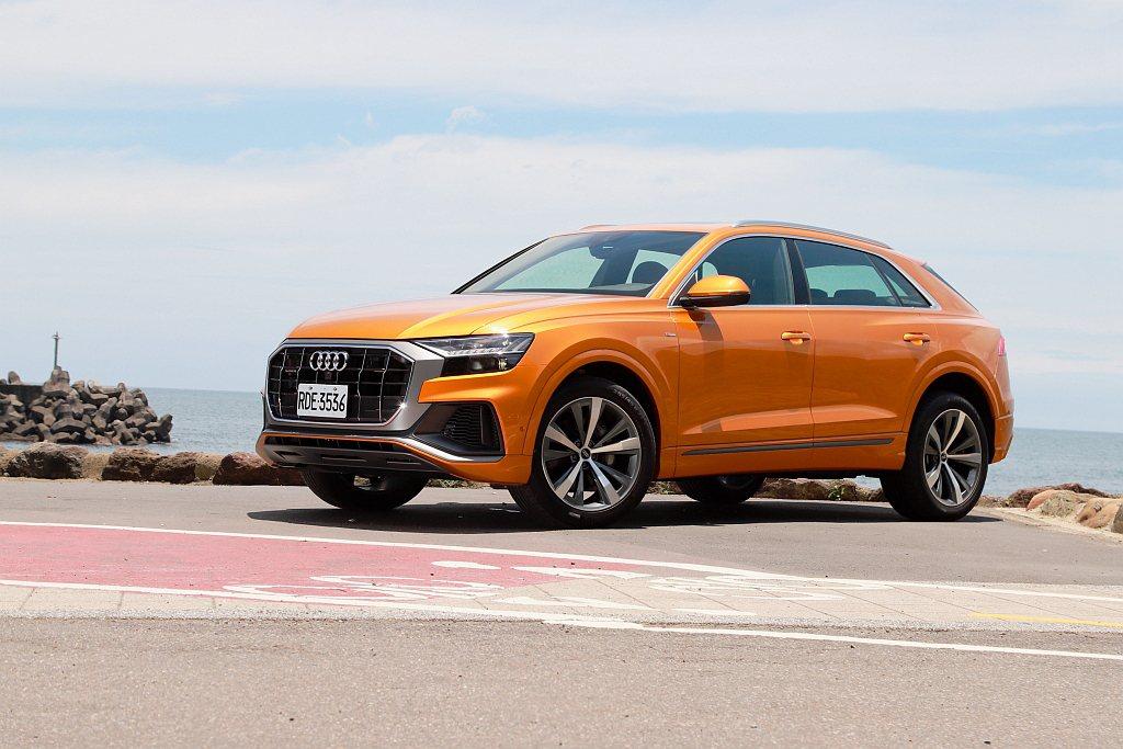 雖然Audi Q8到了今年3月才正式導入台灣,但還是有十足的新鮮感。 記者張振群...