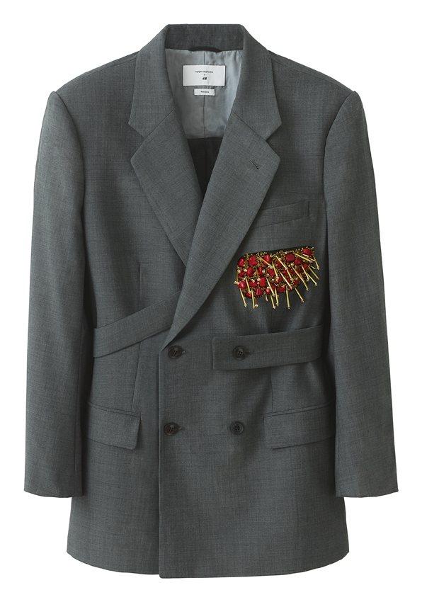 H&M率先曝光即將推出的TOGA ARCHIVES聯名系列女裝外套。圖/...
