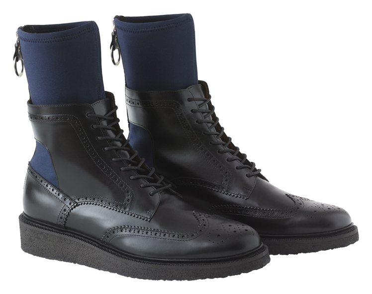 H&M率先曝光即將推出的TOGA ARCHIVES聯名系列男鞋。圖/H&...