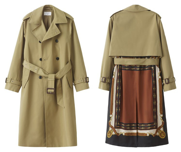 H&M率先曝光即將推出的TOGA ARCHIVES聯名系列男裝風衣。圖/...
