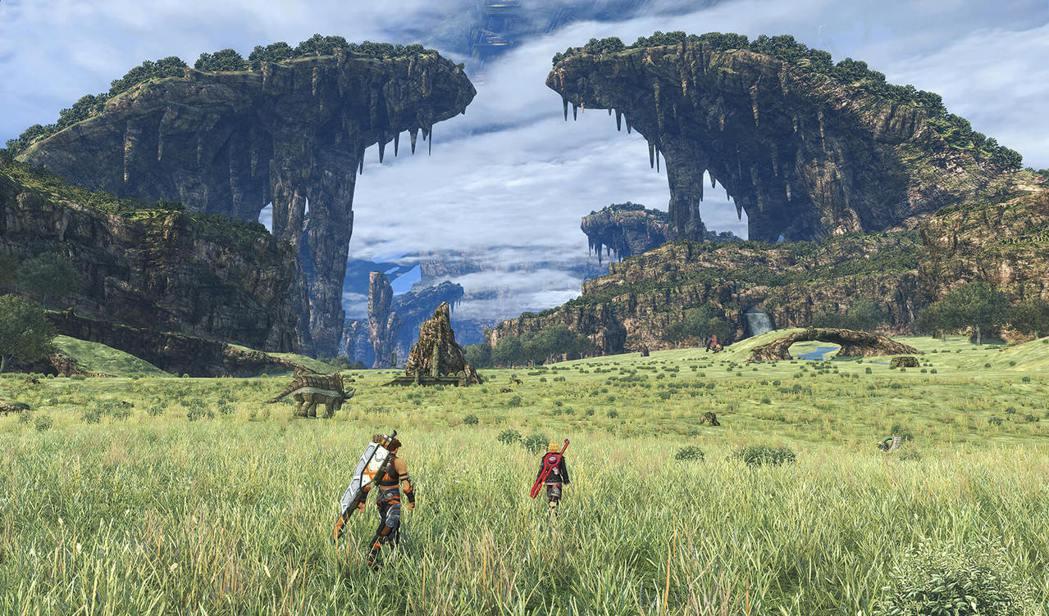遊戲的特色之一,就是可以進行探索的地圖區域非常廣大。