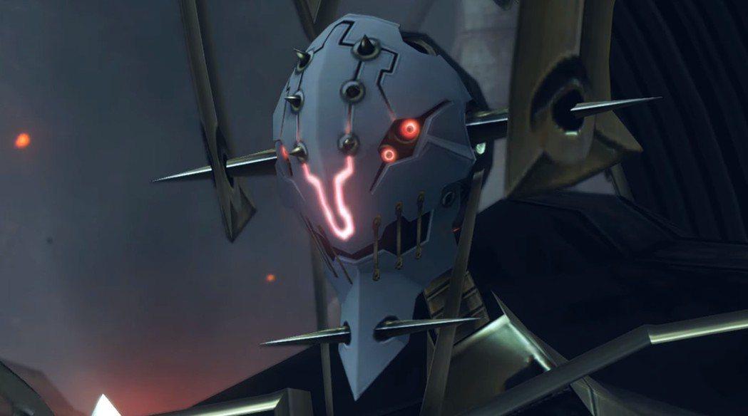 故事初期的強大敵人,黑色有臉機神兵,無情地對修爾克所居住的地方展開攻擊。