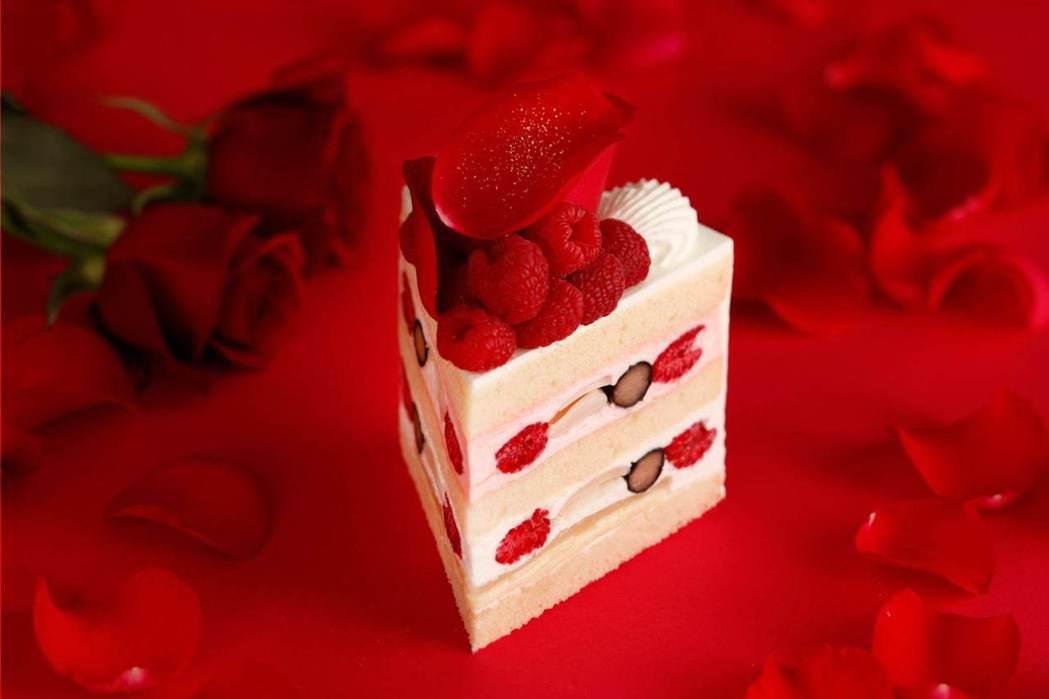 新大谷酒店的極超草莓蛋糕。圖/摘自品牌官網