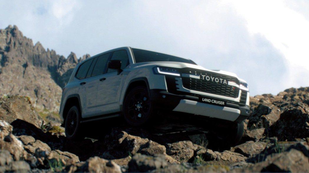 Land Cruiser 300以全新GA-F平台打造。 摘自Toyota