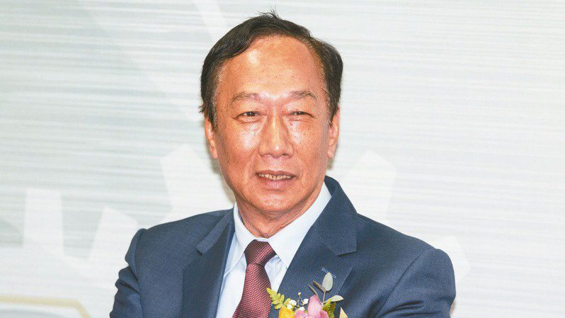 鴻海集團創辦人郭台銘。 報系資料照