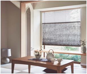 Nichibei折璟簾半透光和紙材質加紗。 丰家設計/提供