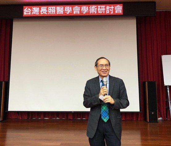 台灣長照醫學會理事長劉伯恩。 台灣長照醫學會/提供