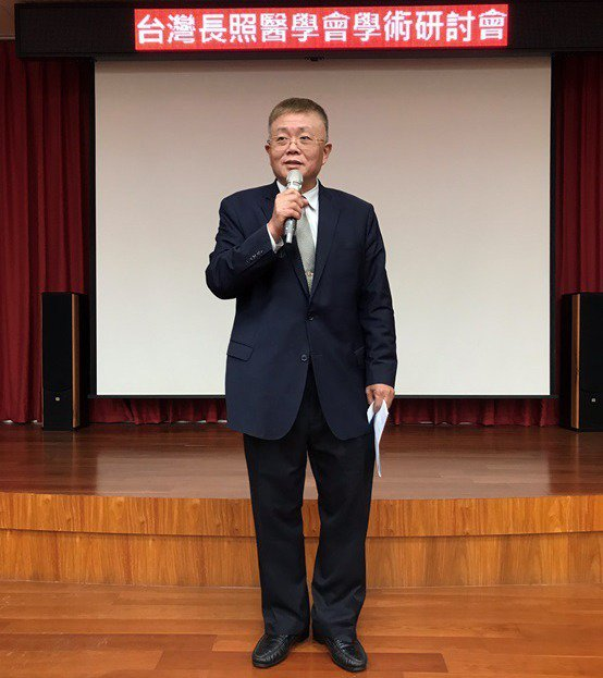 台灣長照醫學會副理事郭鋒銘醫師。 台灣長照醫學會/提供
