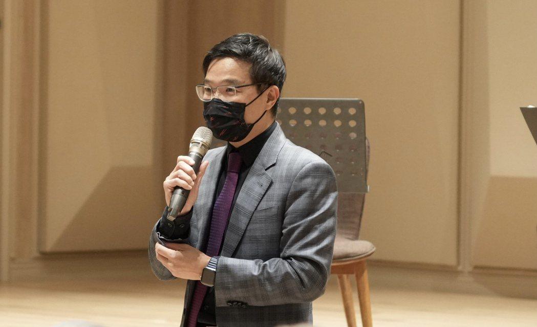 創投公會理事長邱德成。公會/提供