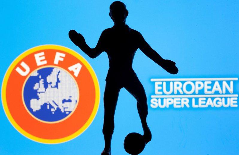 英超對參與歐洲超級聯賽6強罰款。 路透