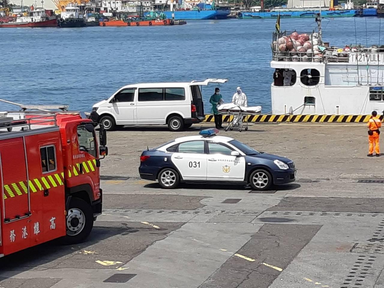 船員猝死停靠高雄港相驗 衛生局:另11人健康無虞