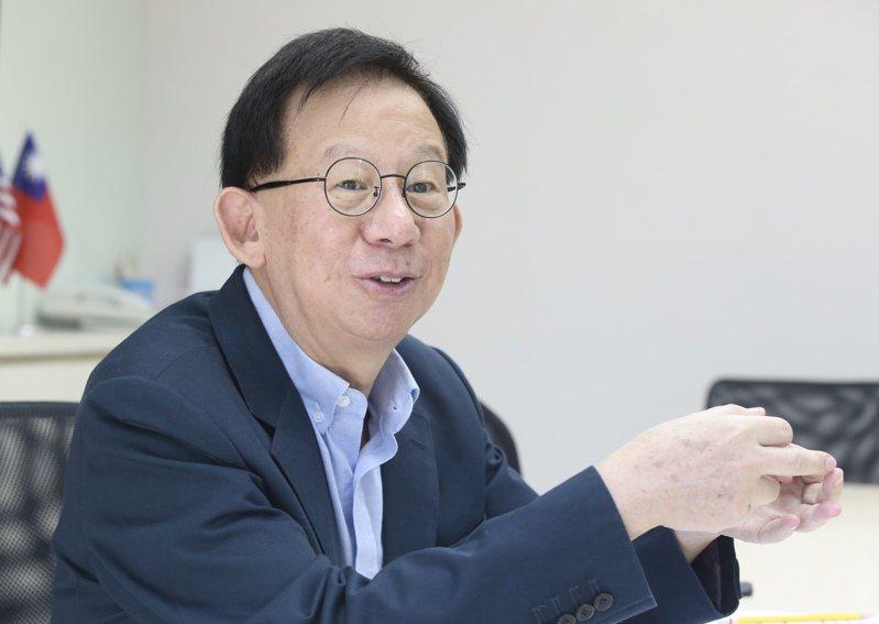 高端疫苗總經理陳燦堅。聯合報系資料照/記者林俊良攝影