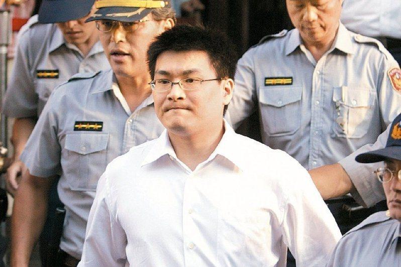 前總統陳水扁的女婿趙建銘(圖)涉及的「台灣土地開發公司案」纏訟近16年仍未定讞。圖/聯合報系資料照片