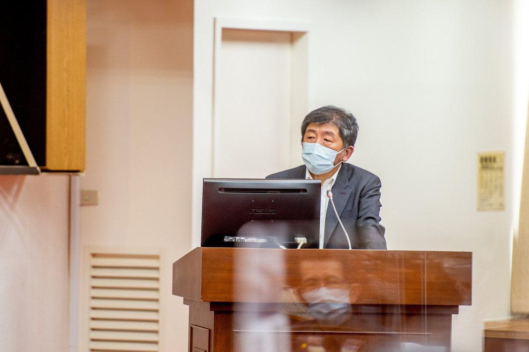 衛福部長陳時中。圖/立法院提供