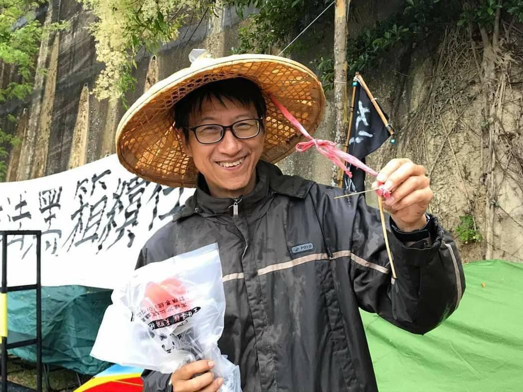 南藝大助理教授吳永毅。圖/取自吳永毅臉書