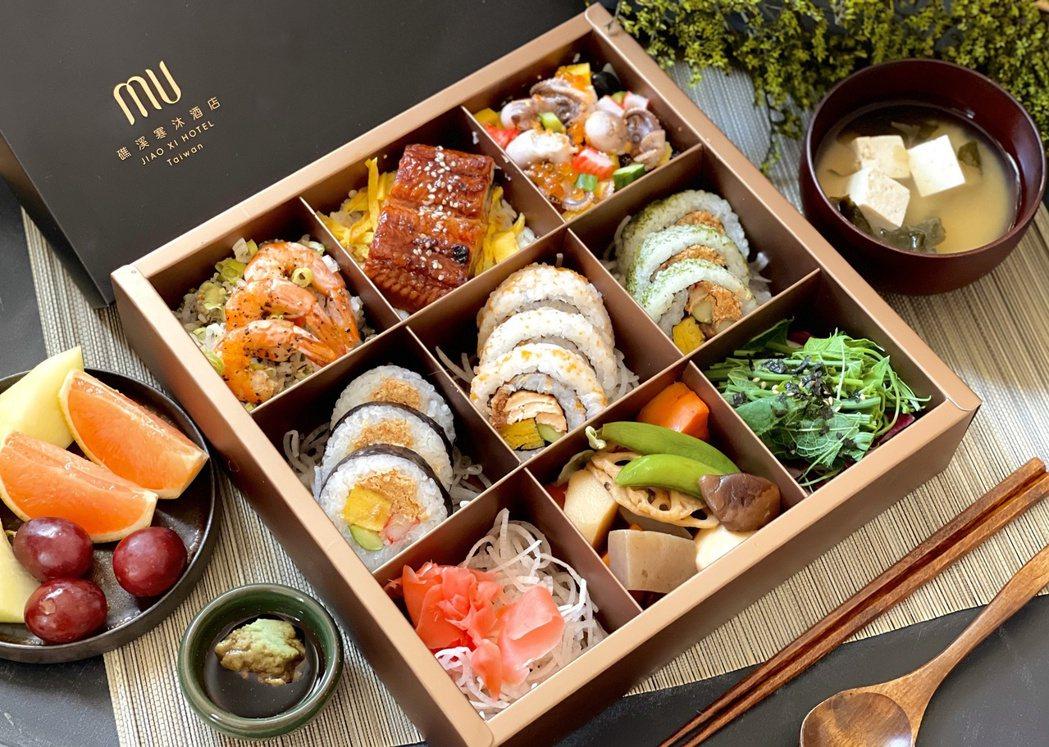 礁溪寒沐酒店推出的日式雙人分享餐,原價599元,加購價499元。圖/礁溪寒沐提供