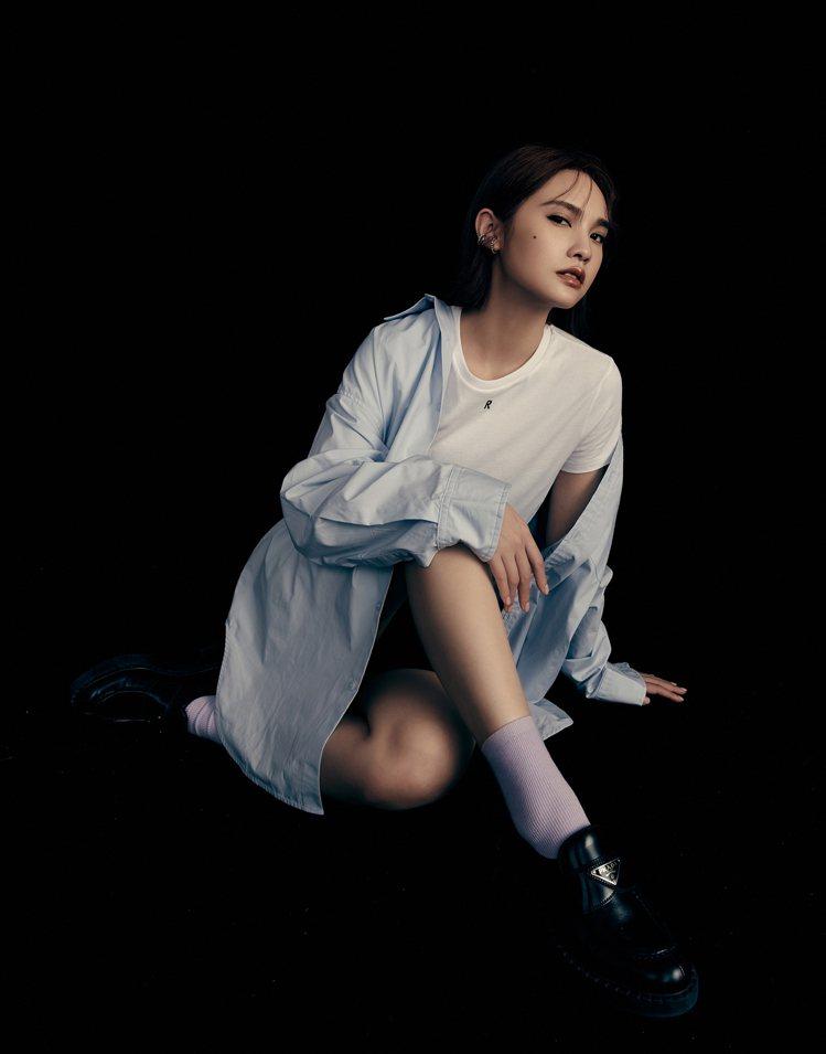 楊丞琳再度與平價服飾品牌合作,並親自詮釋系列形象大片。圖/PAZZO提供