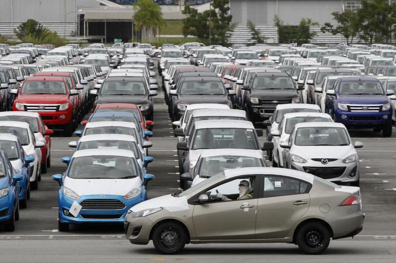 中國大陸長城汽車和台灣的鴻海投資泰國車市,可能挑戰數十年來主導當地市場的日本品牌。示意圖。路透