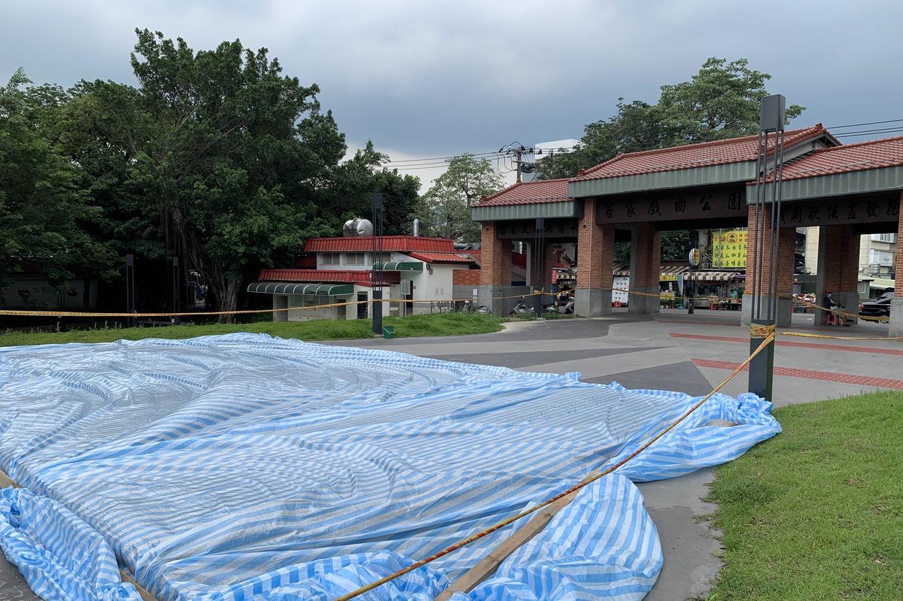 新竹竹東首次出現確診個案 戲曲公園將作為疫苗接種站