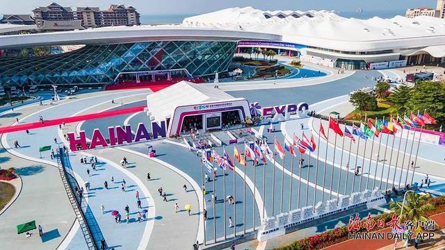 海南海口5月舉行首屆中國國際消費品博覽會。圖源:新華網