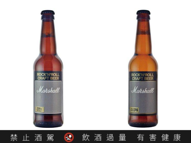 與音樂界著名的英國音響品牌合作推出的蘇格蘭MARSHALL啤酒FULL STAC...