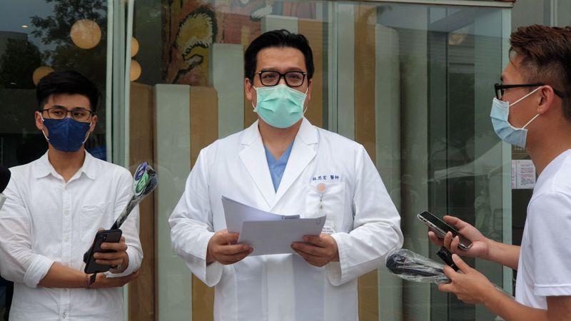 禾馨醫療營運長林思宏表示,他們都有配合北市衛生局要求,施打人員均有造冊。記者胡瑞玲/攝影