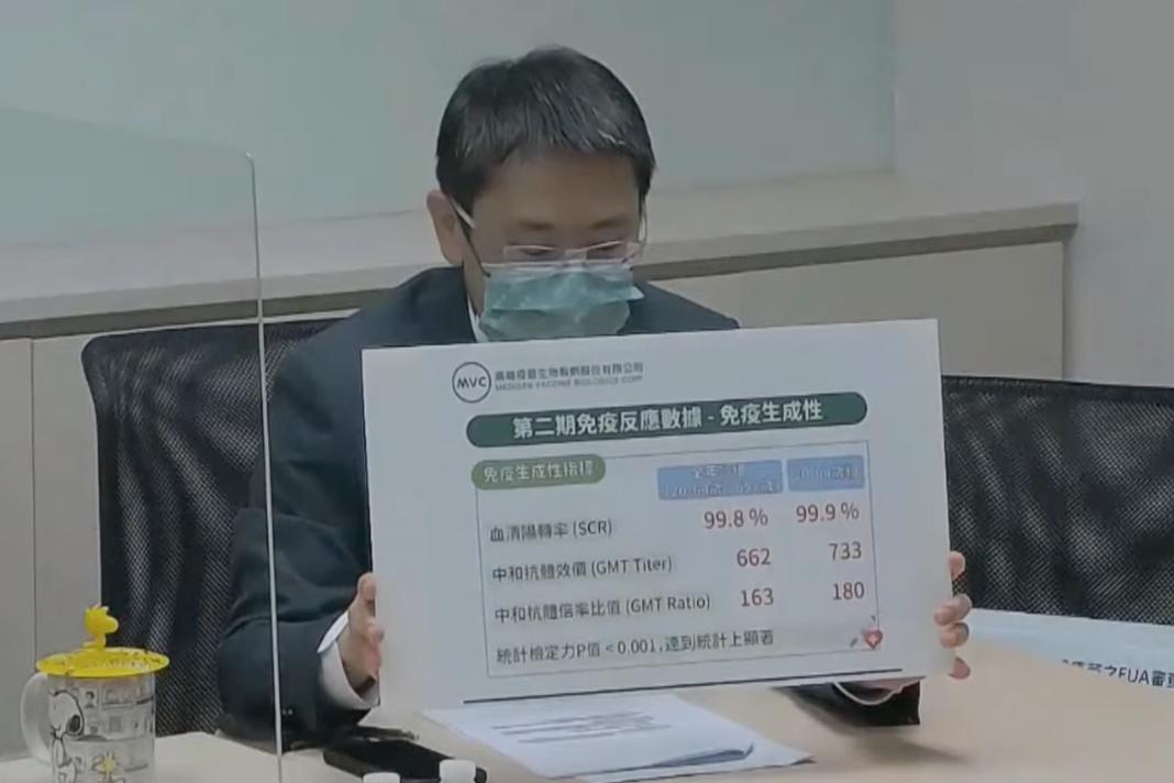 高端疫苗解盲 食藥署:最快七月才能審EUA