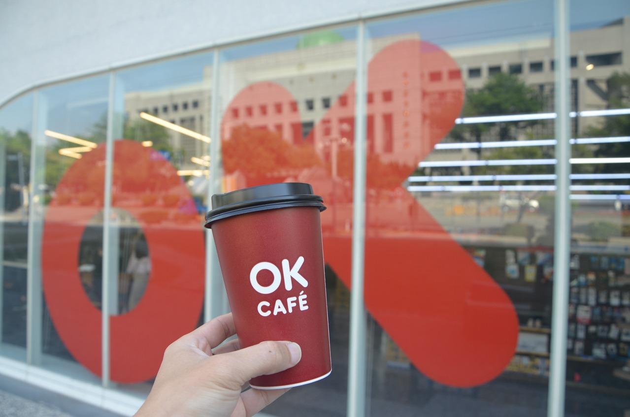端午連假OKmart會員莊園級大杯美式咖啡、拿鐵買2送2