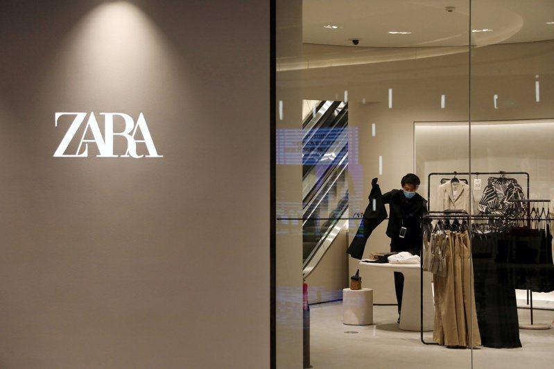随着西方国家陆续重启经济,Zara的业绩已回升。路透(photo:UDN)