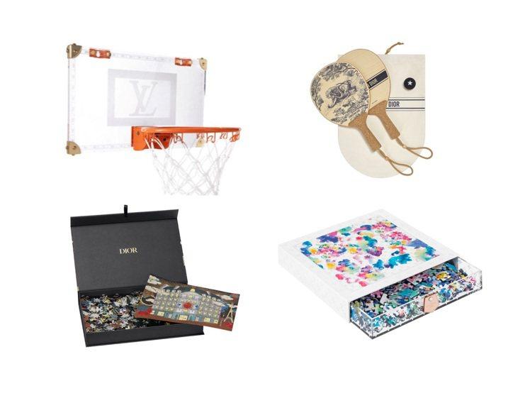 路易威登和DIOR推出許多宅在家可以賞玩的小物。圖/DIOR提供、取自IG