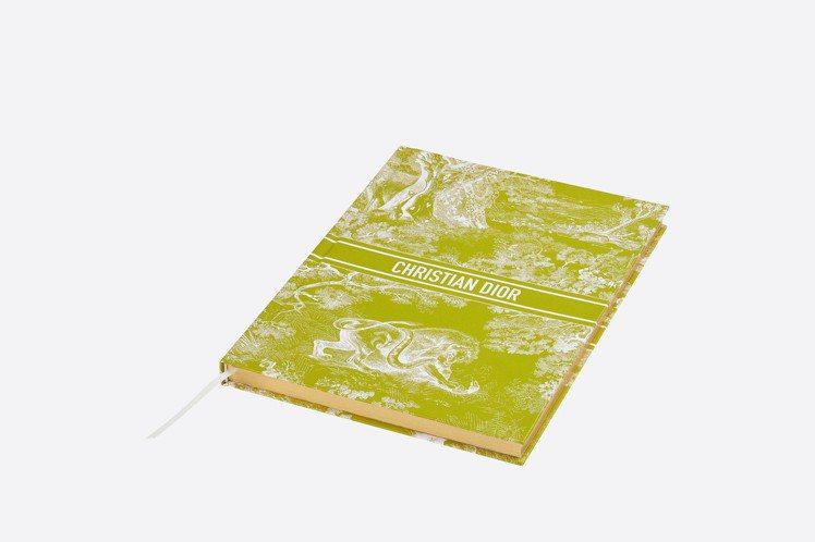 Dioriviera青檸綠筆記本。圖/DIOR提供