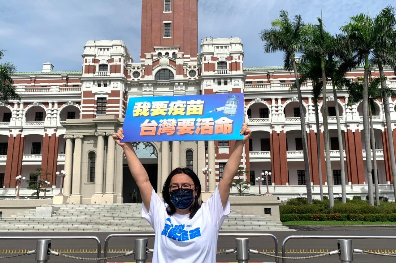 陳玉珍積極爭取 中央同意調增離島縣市疫苗分配數量