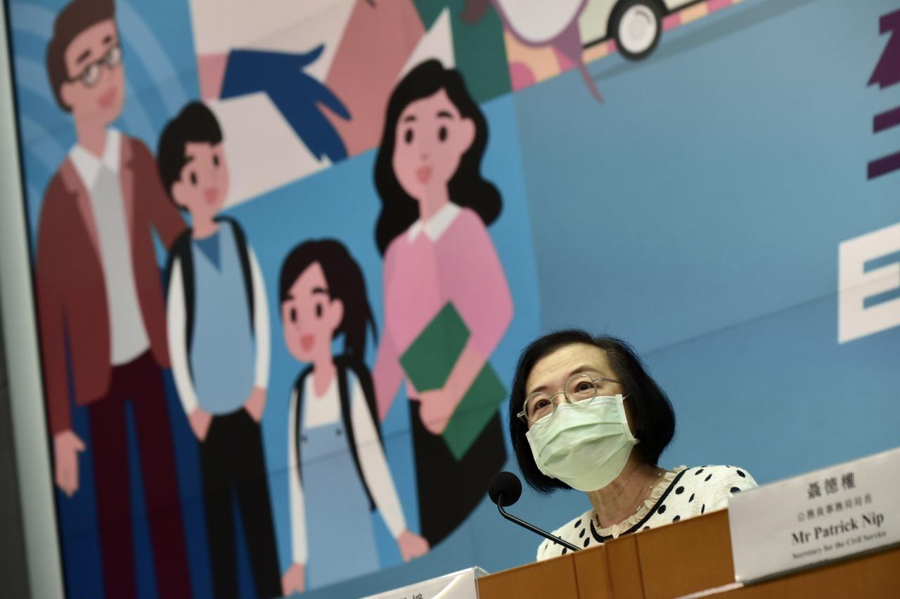 香港動員12至15歲青少年 11日起預約接種疫苗