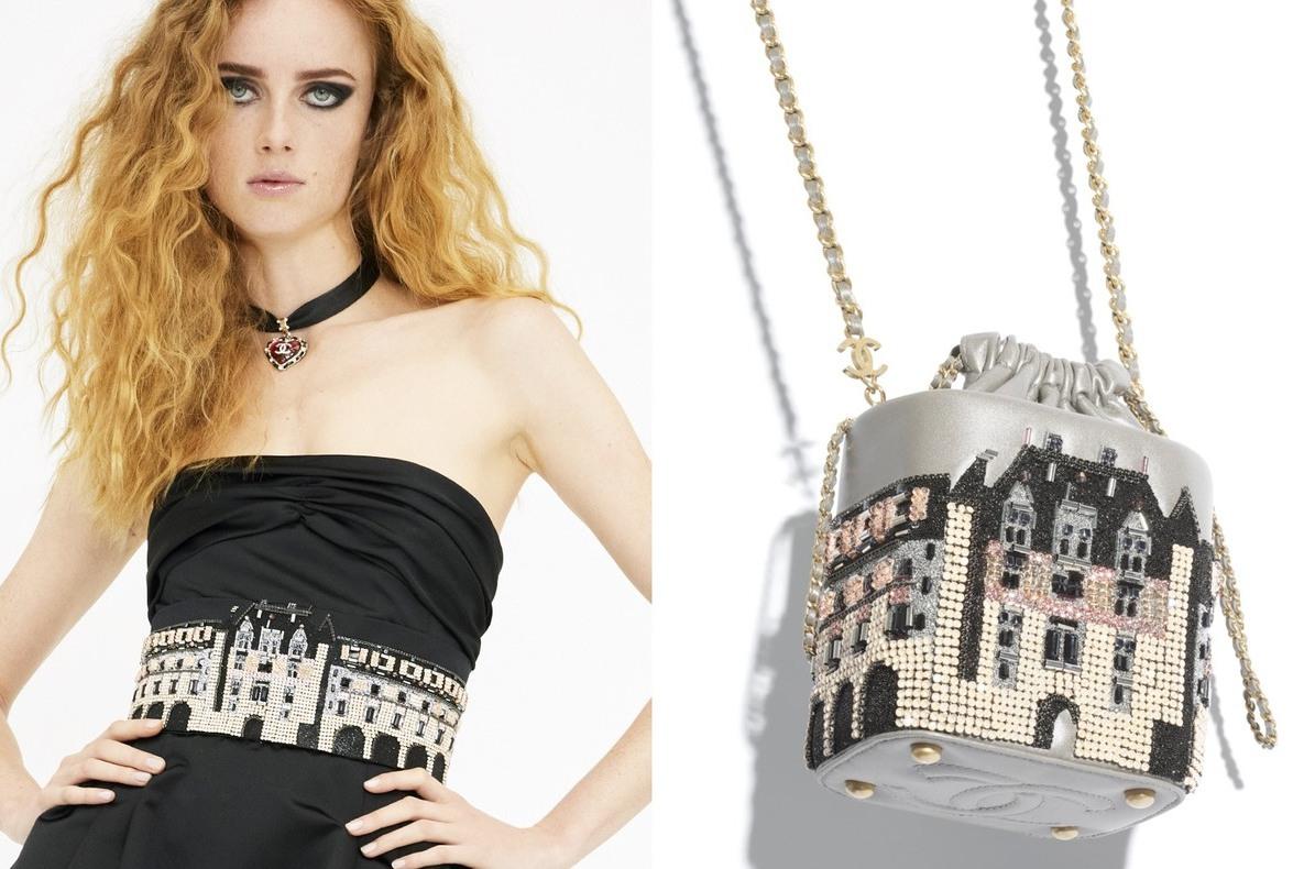 拎著走的精緻小城堡!香奈兒工坊刺繡包就是欠收藏