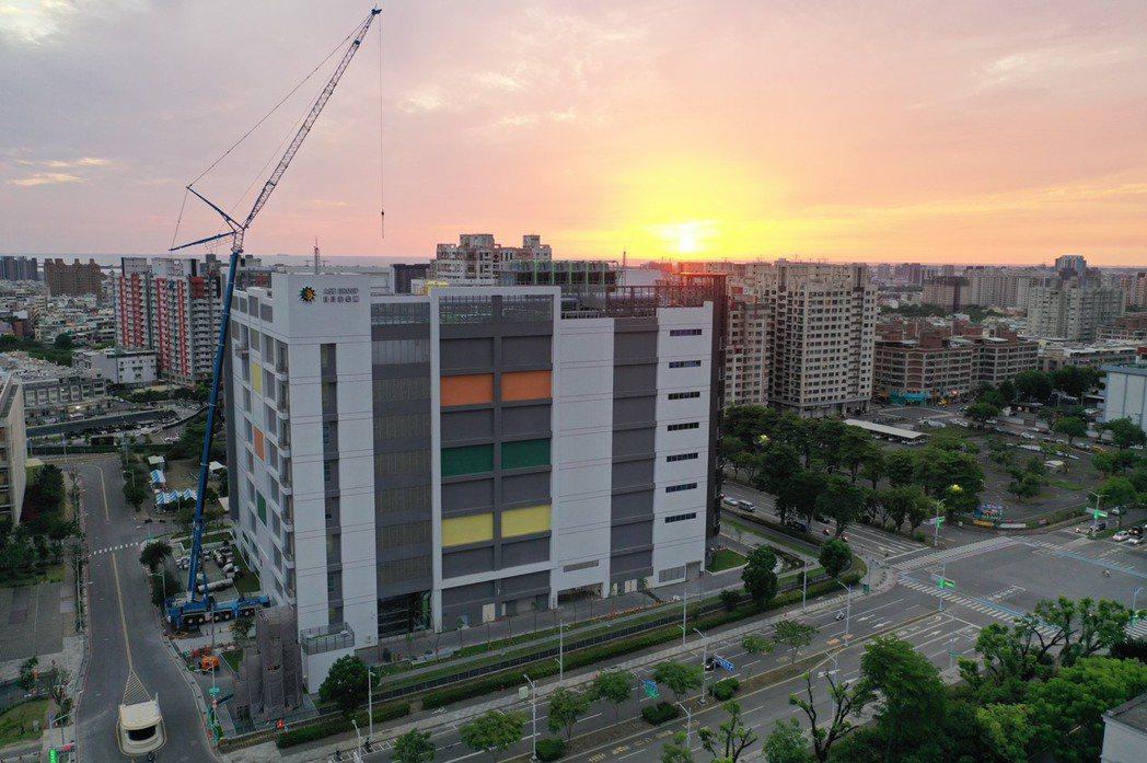 日月光投控購入K25新建廠辦大樓。公司/提供