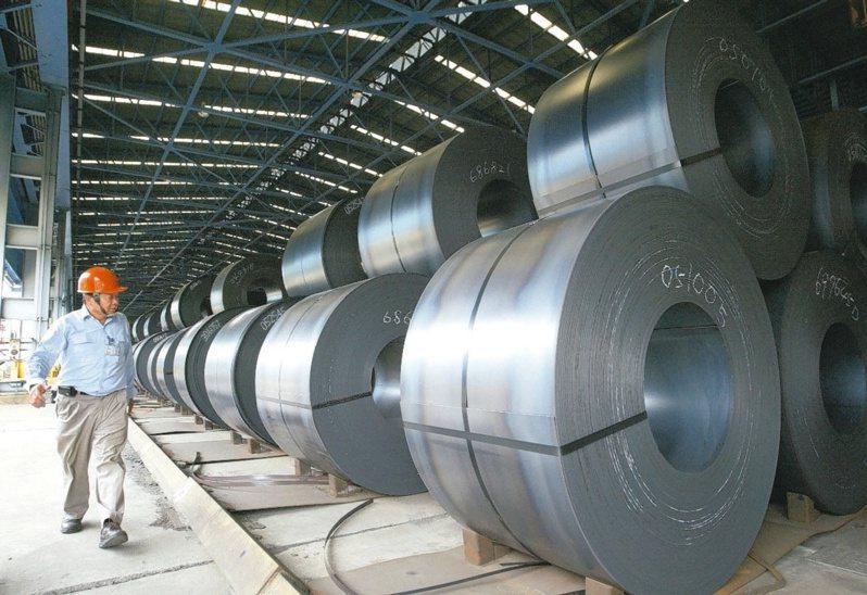 中鋼5月合併營收創單月新高,反應出目前鋼市盛況。(本報系資料庫)
