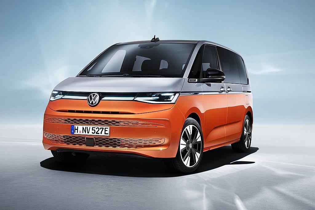 經過多次預告,德國福斯商旅正式推出新世代Multivan。 圖/Volkswag...