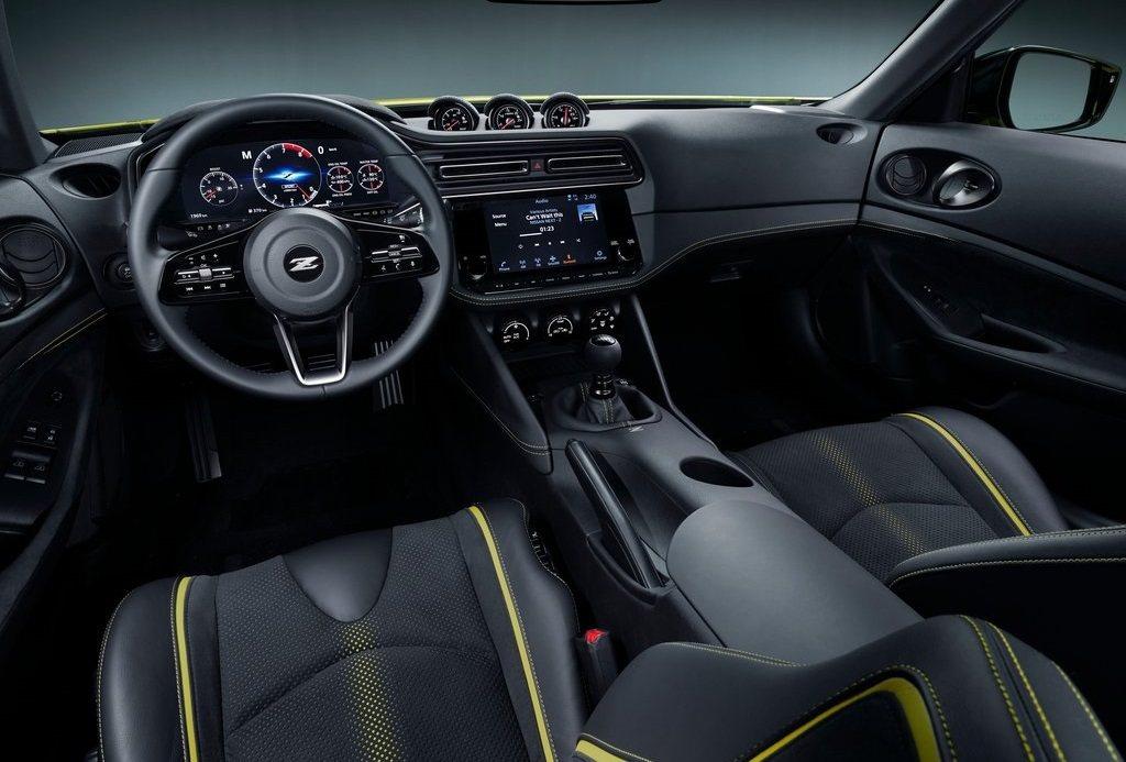 Z Proto內裝設計。 摘自Nissan