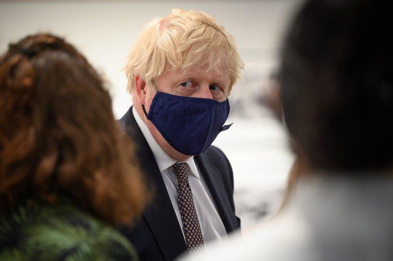 英國首相強生(Boris Johnson)。 路透社